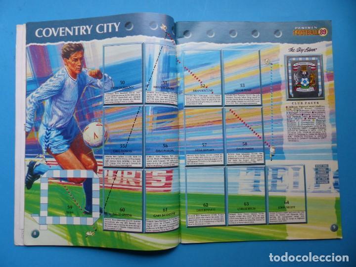 Coleccionismo deportivo: ALBUM CROMOS - FOOTBALL 1989 89, STICKER ALBUM, PANINI - VER DESCRIPCION Y FOTOS - Foto 6 - 169397960