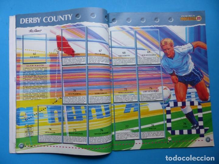Coleccionismo deportivo: ALBUM CROMOS - FOOTBALL 1989 89, STICKER ALBUM, PANINI - VER DESCRIPCION Y FOTOS - Foto 7 - 169397960
