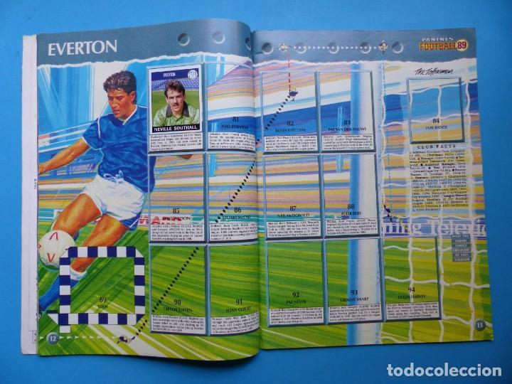 Coleccionismo deportivo: ALBUM CROMOS - FOOTBALL 1989 89, STICKER ALBUM, PANINI - VER DESCRIPCION Y FOTOS - Foto 8 - 169397960