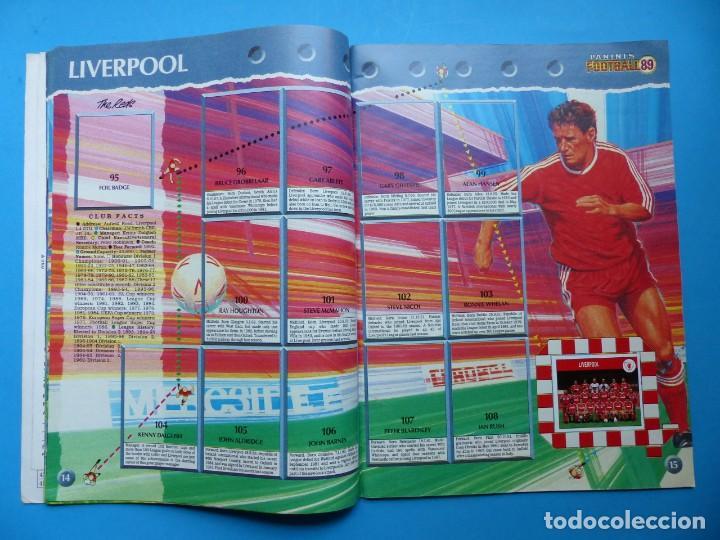 Coleccionismo deportivo: ALBUM CROMOS - FOOTBALL 1989 89, STICKER ALBUM, PANINI - VER DESCRIPCION Y FOTOS - Foto 9 - 169397960