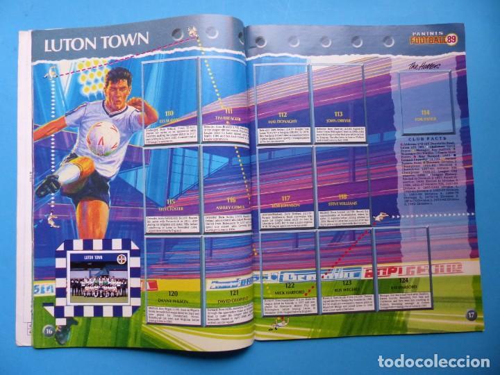 Coleccionismo deportivo: ALBUM CROMOS - FOOTBALL 1989 89, STICKER ALBUM, PANINI - VER DESCRIPCION Y FOTOS - Foto 10 - 169397960