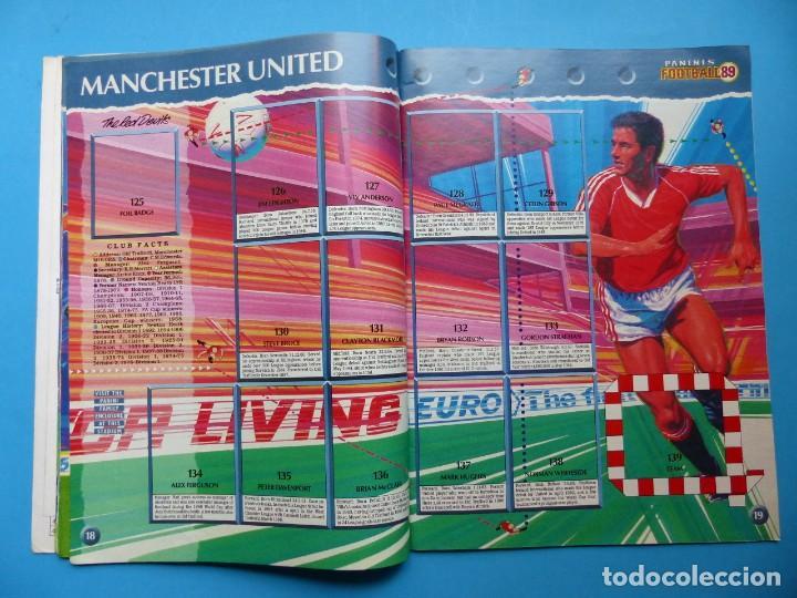 Coleccionismo deportivo: ALBUM CROMOS - FOOTBALL 1989 89, STICKER ALBUM, PANINI - VER DESCRIPCION Y FOTOS - Foto 11 - 169397960