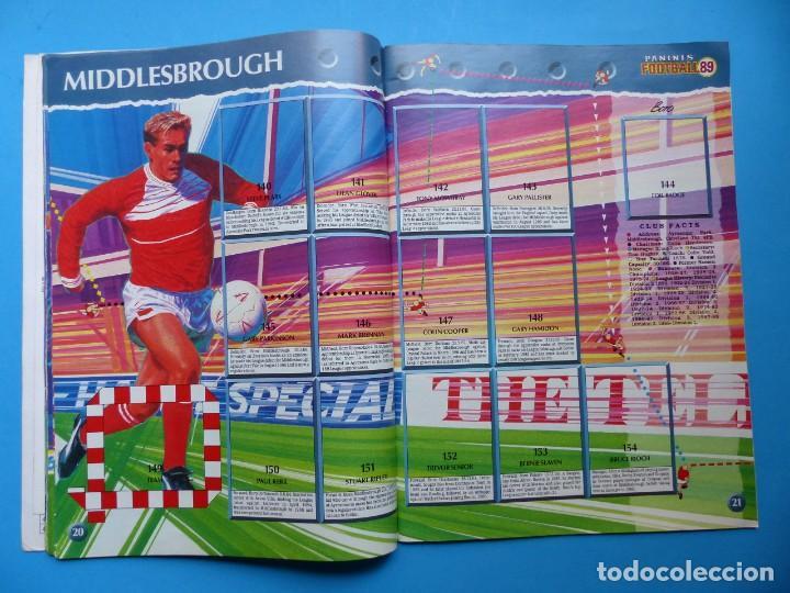 Coleccionismo deportivo: ALBUM CROMOS - FOOTBALL 1989 89, STICKER ALBUM, PANINI - VER DESCRIPCION Y FOTOS - Foto 12 - 169397960
