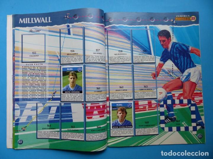 Coleccionismo deportivo: ALBUM CROMOS - FOOTBALL 1989 89, STICKER ALBUM, PANINI - VER DESCRIPCION Y FOTOS - Foto 13 - 169397960