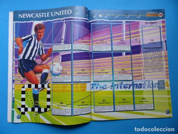 Coleccionismo deportivo: ALBUM CROMOS - FOOTBALL 1989 89, STICKER ALBUM, PANINI - VER DESCRIPCION Y FOTOS - Foto 14 - 169397960