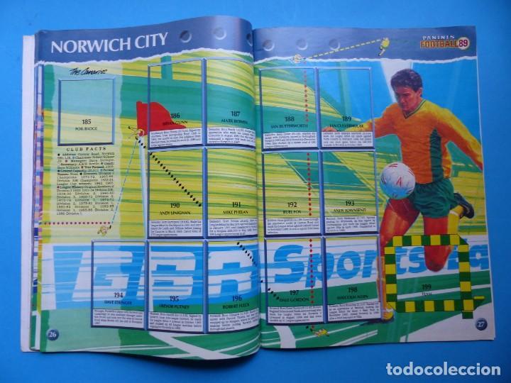 Coleccionismo deportivo: ALBUM CROMOS - FOOTBALL 1989 89, STICKER ALBUM, PANINI - VER DESCRIPCION Y FOTOS - Foto 15 - 169397960