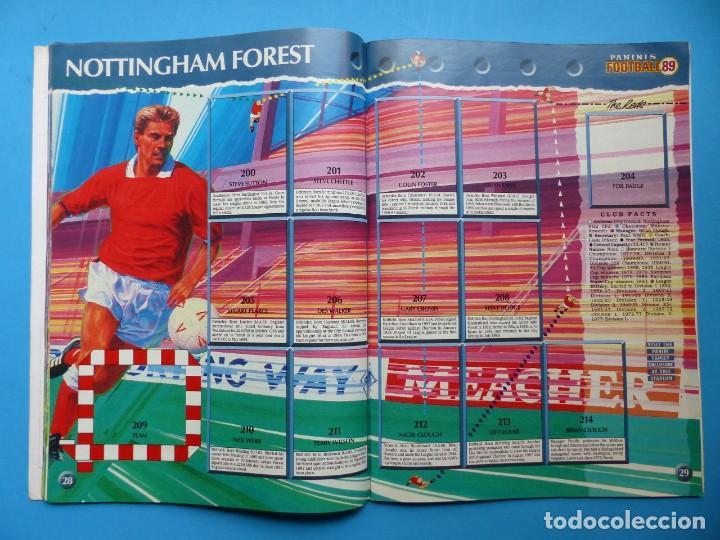 Coleccionismo deportivo: ALBUM CROMOS - FOOTBALL 1989 89, STICKER ALBUM, PANINI - VER DESCRIPCION Y FOTOS - Foto 16 - 169397960