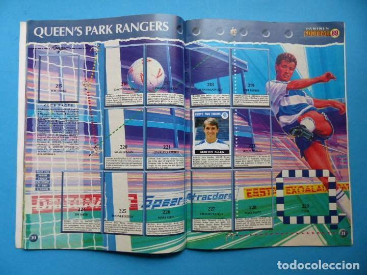 Coleccionismo deportivo: ALBUM CROMOS - FOOTBALL 1989 89, STICKER ALBUM, PANINI - VER DESCRIPCION Y FOTOS - Foto 17 - 169397960