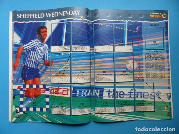 Coleccionismo deportivo: ALBUM CROMOS - FOOTBALL 1989 89, STICKER ALBUM, PANINI - VER DESCRIPCION Y FOTOS - Foto 18 - 169397960