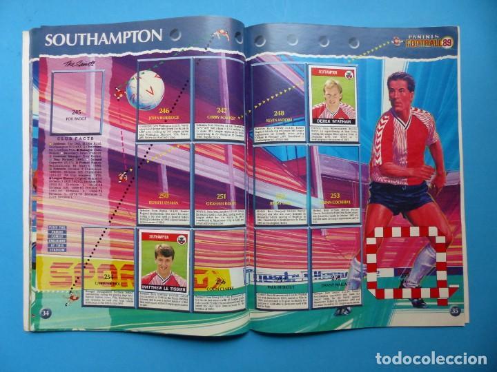 Coleccionismo deportivo: ALBUM CROMOS - FOOTBALL 1989 89, STICKER ALBUM, PANINI - VER DESCRIPCION Y FOTOS - Foto 19 - 169397960