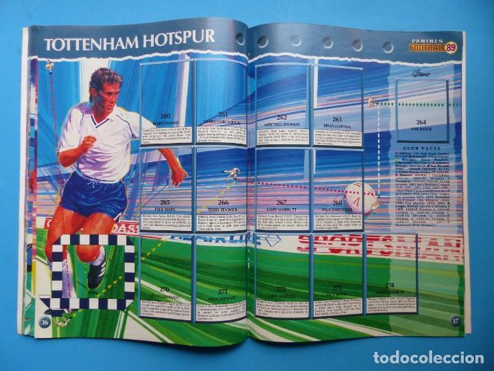 Coleccionismo deportivo: ALBUM CROMOS - FOOTBALL 1989 89, STICKER ALBUM, PANINI - VER DESCRIPCION Y FOTOS - Foto 20 - 169397960