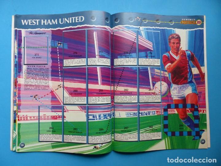 Coleccionismo deportivo: ALBUM CROMOS - FOOTBALL 1989 89, STICKER ALBUM, PANINI - VER DESCRIPCION Y FOTOS - Foto 21 - 169397960
