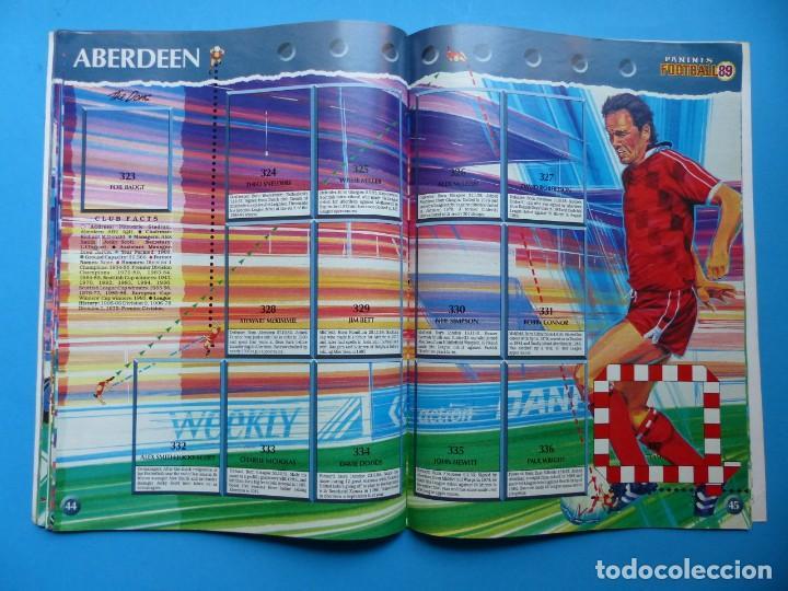 Coleccionismo deportivo: ALBUM CROMOS - FOOTBALL 1989 89, STICKER ALBUM, PANINI - VER DESCRIPCION Y FOTOS - Foto 24 - 169397960