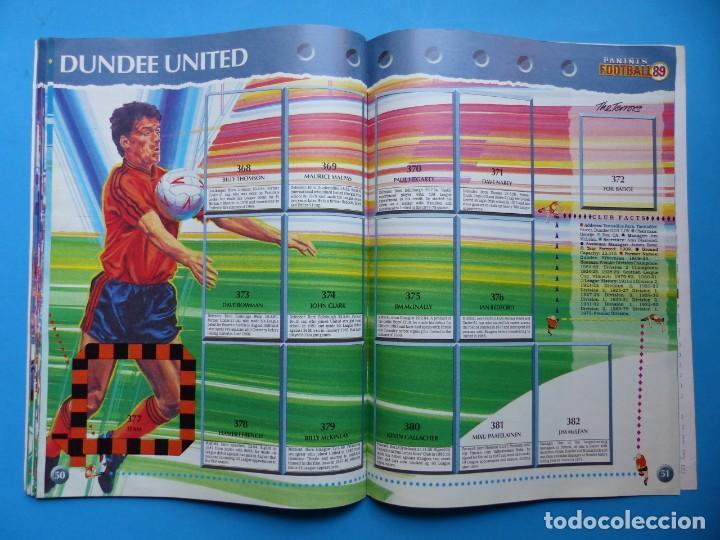 Coleccionismo deportivo: ALBUM CROMOS - FOOTBALL 1989 89, STICKER ALBUM, PANINI - VER DESCRIPCION Y FOTOS - Foto 27 - 169397960