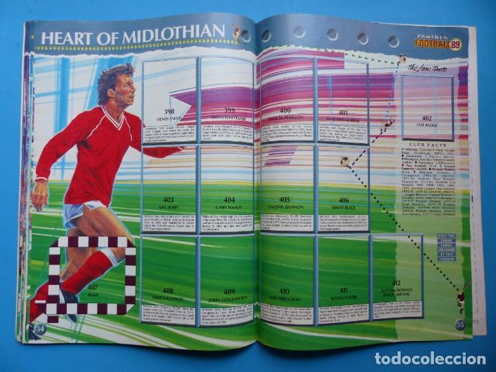 Coleccionismo deportivo: ALBUM CROMOS - FOOTBALL 1989 89, STICKER ALBUM, PANINI - VER DESCRIPCION Y FOTOS - Foto 29 - 169397960