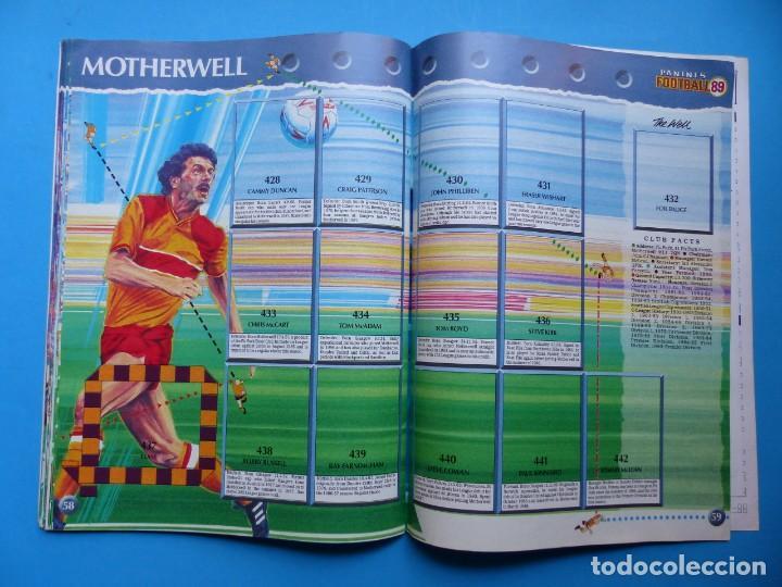 Coleccionismo deportivo: ALBUM CROMOS - FOOTBALL 1989 89, STICKER ALBUM, PANINI - VER DESCRIPCION Y FOTOS - Foto 31 - 169397960