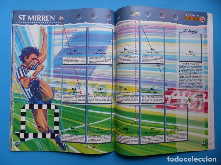 Coleccionismo deportivo: ALBUM CROMOS - FOOTBALL 1989 89, STICKER ALBUM, PANINI - VER DESCRIPCION Y FOTOS - Foto 33 - 169397960