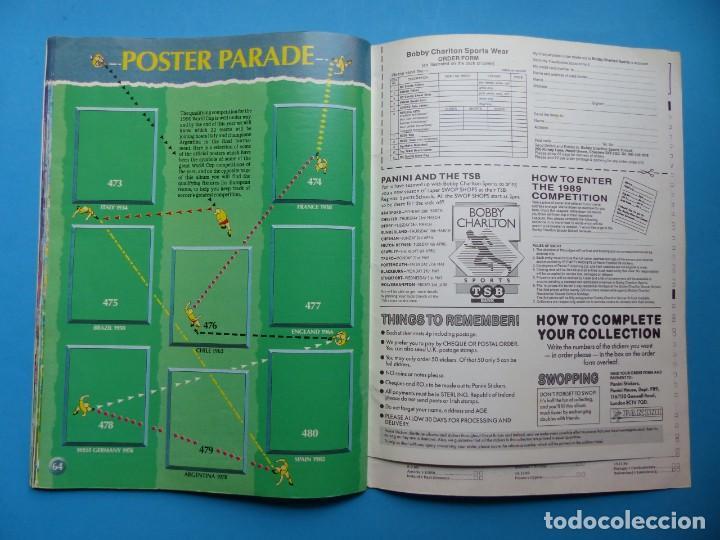 Coleccionismo deportivo: ALBUM CROMOS - FOOTBALL 1989 89, STICKER ALBUM, PANINI - VER DESCRIPCION Y FOTOS - Foto 34 - 169397960