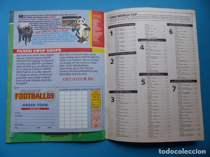 Coleccionismo deportivo: ALBUM CROMOS - FOOTBALL 1989 89, STICKER ALBUM, PANINI - VER DESCRIPCION Y FOTOS - Foto 35 - 169397960
