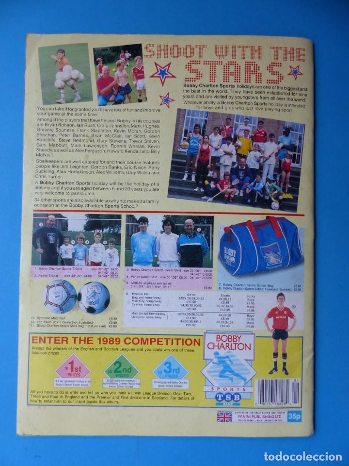 Coleccionismo deportivo: ALBUM CROMOS - FOOTBALL 1989 89, STICKER ALBUM, PANINI - VER DESCRIPCION Y FOTOS - Foto 36 - 169397960