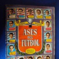 Coleccionismo deportivo: (F-190680)ASES DEL FUTBOL PRIMERA DIVISION LAS MAS FAMOSAS FIGURAS DEL FUTBOL ESPAÑOL-EDIT.BRUGUERA. Lote 169399800