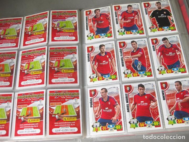 Coleccionismo deportivo: ALBUM PANINI DE CROMOS O TARJETAS DE FUTBOL ADRENALYN XL TRADING CARD 2013 - 2014 - LIGA BBVA - Foto 3 - 169460288