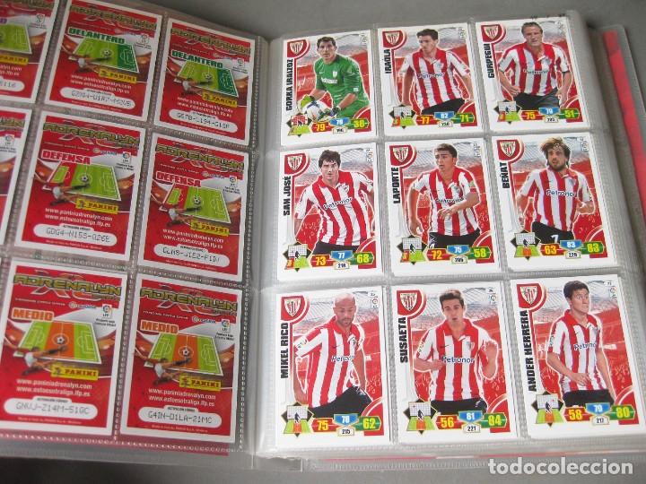 Coleccionismo deportivo: ALBUM PANINI DE CROMOS O TARJETAS DE FUTBOL ADRENALYN XL TRADING CARD 2013 - 2014 - LIGA BBVA - Foto 2 - 169460288