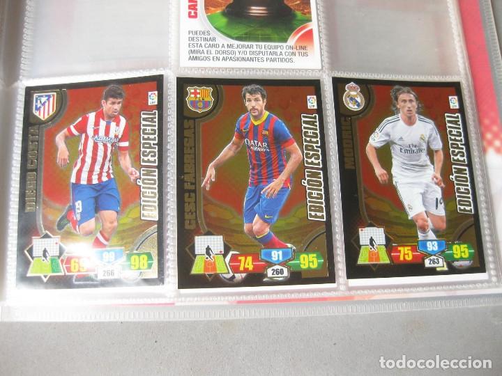 Coleccionismo deportivo: ALBUM PANINI DE CROMOS O TARJETAS DE FUTBOL ADRENALYN XL TRADING CARD 2013 - 2014 - LIGA BBVA - Foto 4 - 169460288