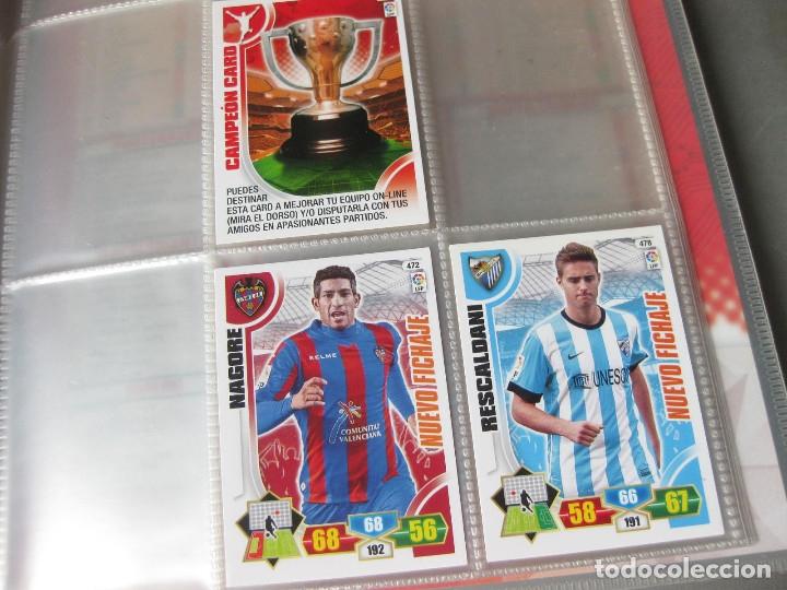 Coleccionismo deportivo: ALBUM PANINI DE CROMOS O TARJETAS DE FUTBOL ADRENALYN XL TRADING CARD 2013 - 2014 - LIGA BBVA - Foto 5 - 169460288