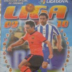 Coleccionismo deportivo: ÁLBUM DE CROMOS DE FÚTBOL. CONTIENE 465 CROMOS LIGA 2009 2010 ESTE PANINI. 530GR. Lote 169766120