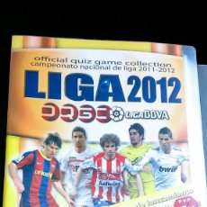 Coleccionismo deportivo: CAMPEONATO NACIONAL DE LIGA 2011-2012 BBVA. OFFICIAL QUIZ GAME COLLECTION. MUNDICROMO.. Lote 170105036