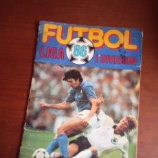 Coleccionismo deportivo: ALBUM ED CANO 85 86 CROMO FUTBOL LIGA 1985 1986 TEMPORADA - VACIO CROMOS DESPEGADOS. Lote 170518824