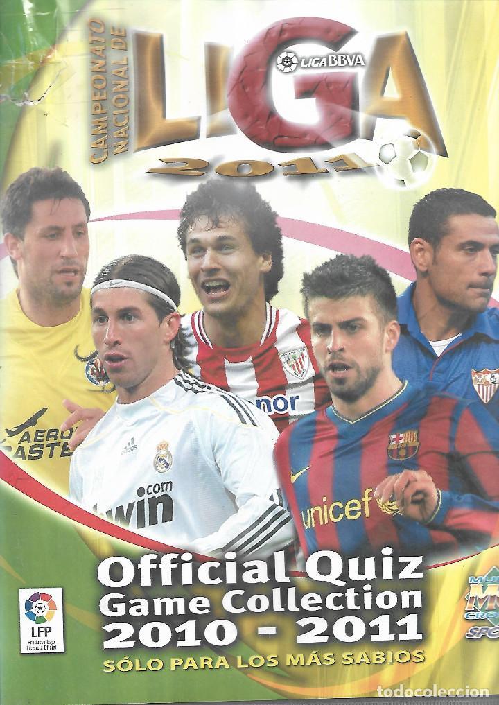 ALBUM DE FICHAS DE LA LIGA 2011 CON MAS 600 FICHAS (Coleccionismo Deportivo - Álbumes y Cromos de Deportes - Álbumes de Fútbol Incompletos)