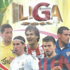 Coleccionismo deportivo: ALBUM DE FICHAS DE LA LIGA 2011 CON MAS 600 FICHAS. Lote 170852360