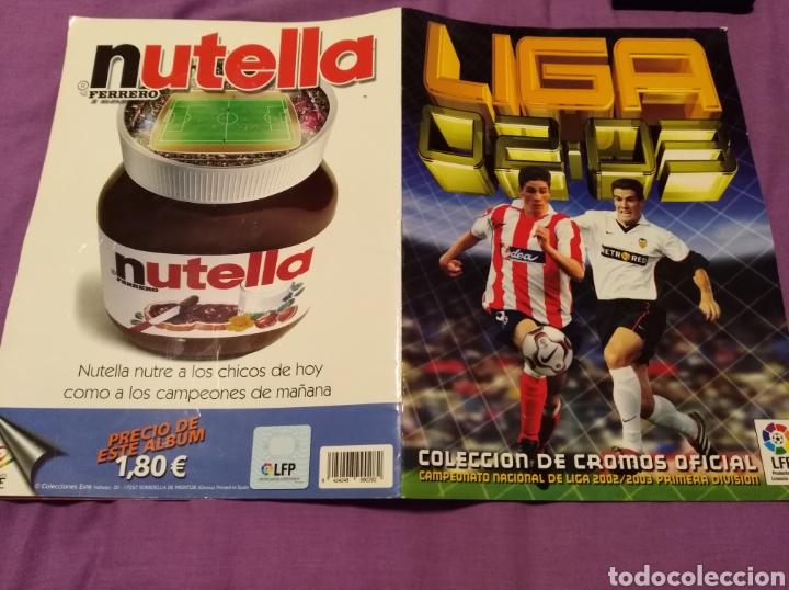 ALBUM PANINI LIGA 2002 2003 COLECCIONES ESTE INCOMPLETO (Coleccionismo Deportivo - Álbumes y Cromos de Deportes - Álbumes de Fútbol Incompletos)