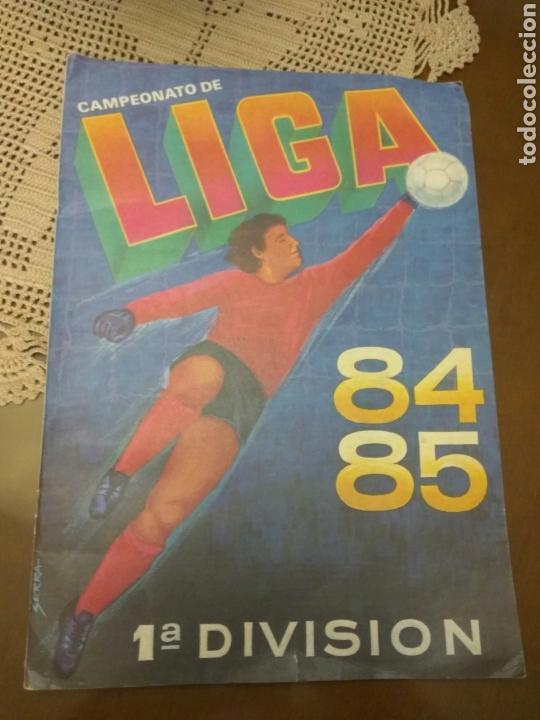 ALBUM CROMOS CANO, FÚTBOL LIGA 84-85 INCOMPLETO (Coleccionismo Deportivo - Álbumes y Cromos de Deportes - Álbumes de Fútbol Incompletos)