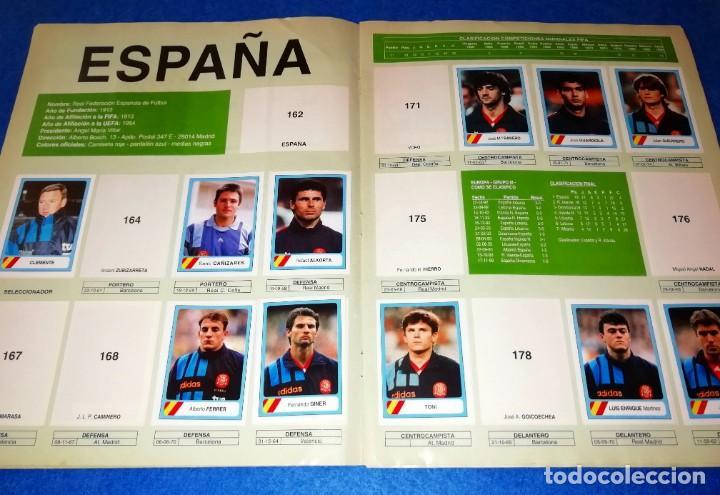 Coleccionismo deportivo: ALBUM DE FUTBOL MUNDIAL USA 94 EDICIONES ESTADIO + CROMOS SUELTOS --- BOX11 - Foto 3 - 171368574