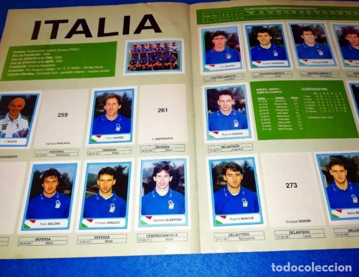 Coleccionismo deportivo: ALBUM DE FUTBOL MUNDIAL USA 94 EDICIONES ESTADIO + CROMOS SUELTOS --- BOX11 - Foto 4 - 171368574
