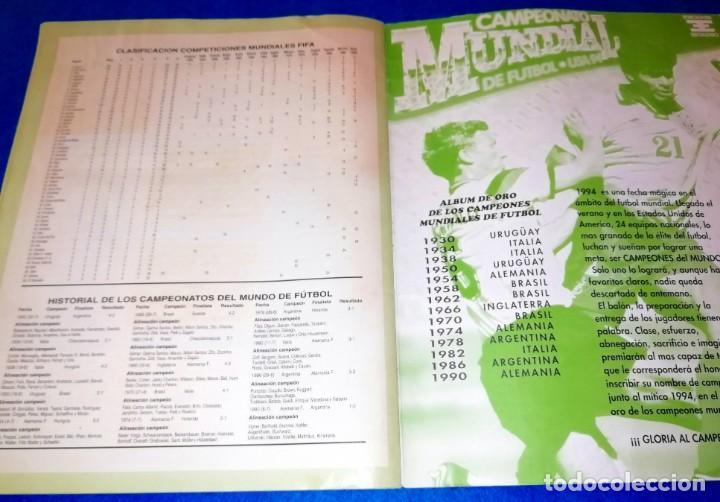Coleccionismo deportivo: ALBUM DE FUTBOL MUNDIAL USA 94 EDICIONES ESTADIO + CROMOS SUELTOS --- BOX11 - Foto 6 - 171368574