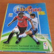 Coleccionismo deportivo: ALBUM LAS FICHAS DE LA LIGA 1999/2000 (CON 405 CROMOS) CAMPEONATO NACIONAL DE LIGA 1ª DIVISION. Lote 171518562