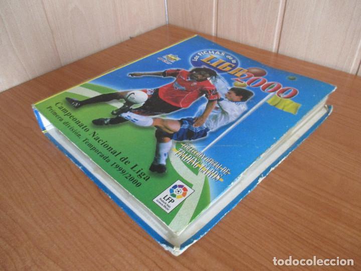Coleccionismo deportivo: ALBUM LAS FICHAS DE LA LIGA 1999/2000 (CON 405 CROMOS) CAMPEONATO NACIONAL DE LIGA 1ª DIVISION - Foto 3 - 171518562