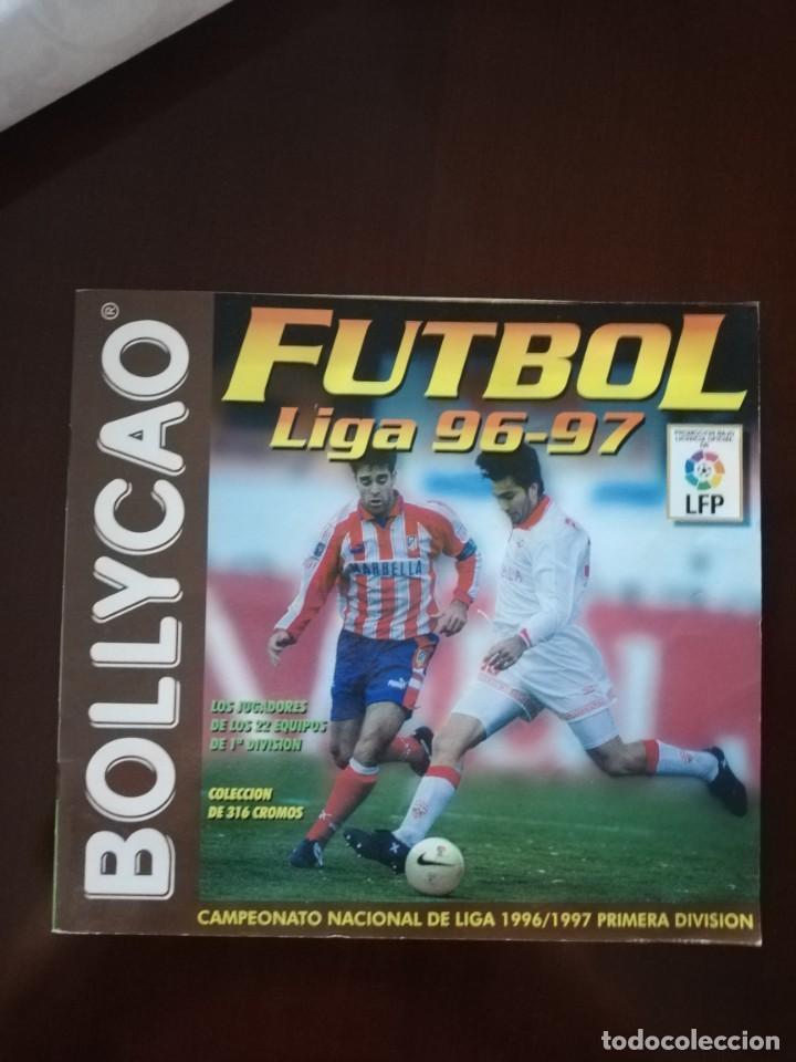 ÁLBUM VACÍO DE BOLLYCAO 96 97 1996 1997. (Coleccionismo Deportivo - Álbumes y Cromos de Deportes - Álbumes de Fútbol Incompletos)