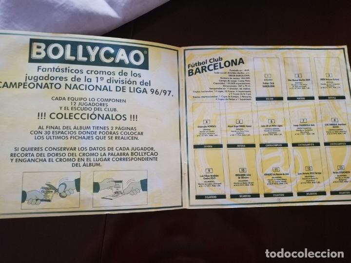 Coleccionismo deportivo: Álbum vacío de Bollycao 96 97 1996 1997. - Foto 2 - 171685412