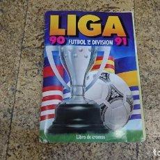 Coleccionismo deportivo: ÁLBUM LIGA ESTE 1990-1991,90-91, CON CROMOS DIFICILES. Lote 171693915