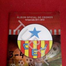 Coleccionismo deportivo: TUBAL CLUB ESPORTIU JUPITER TEMPORADA 2011 ALBUM DE CROMOS. Lote 171714547