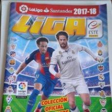 Coleccionismo deportivo: ALBUM LA LIGA SANTANDER 2017 2018 PANINI 6 CROMOS. Lote 171756617