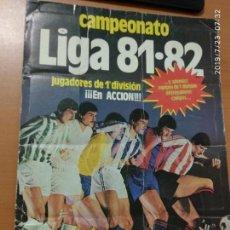 Coleccionismo deportivo: ALBUM DE CROMOS LIGA 81-82, HE PUESTO LAS FOTOS DE LOS QUE FALTAN. Lote 172069982