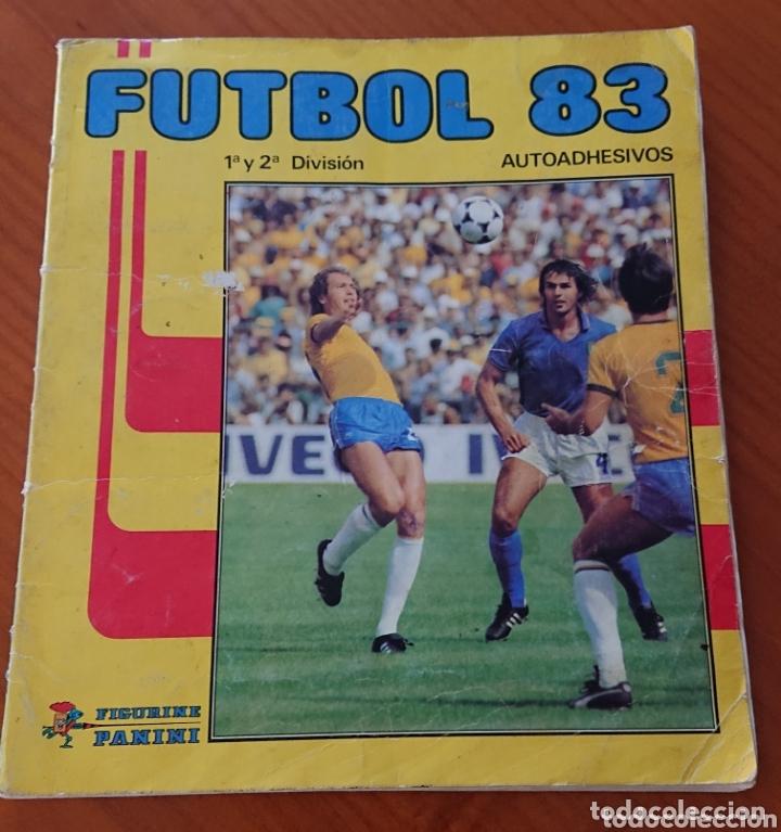 FÚTBOL 83,PANINI, INCOMPLETO CON 396 CROMOS (Coleccionismo Deportivo - Álbumes y Cromos de Deportes - Álbumes de Fútbol Incompletos)