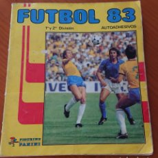 Coleccionismo deportivo: FÚTBOL 83,PANINI, INCOMPLETO CON 396 CROMOS. Lote 194571861