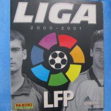 Coleccionismo deportivo: ÁLBUM INCOMPLETO. LIGA 2000 2001. PANINI SPORTS.. Lote 172476902